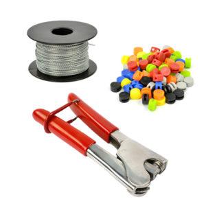 Set Sealing Plier + Sealing Wire + Plastic Lead Seals